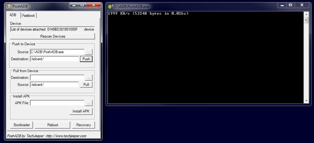 PoshADB - PowerShell ADB & Fastboot GUI Tool for Windows! - Android
